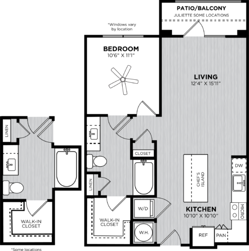 One Bedrooms | One Bedroom Apartments In Sandy Springs Atlanta | 1 ...